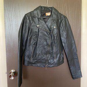 Jackets & Blazers - Black Leather Jacket